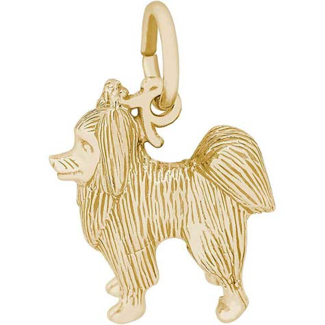 14K Gold Papillon Charm by Rembrandt Charms