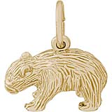 10K Gold Wombat Charm by Rembrandt Charms