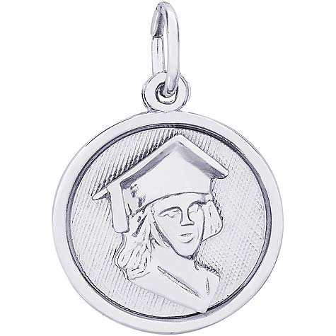 Sterling Silver Graduation Charm by Rembrandt Charms