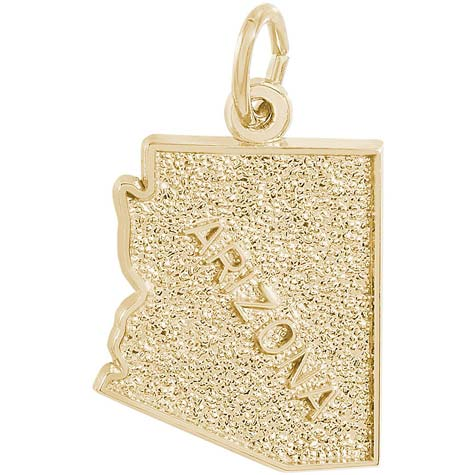 14K Gold Arizona Charm by Rembrandt Charms
