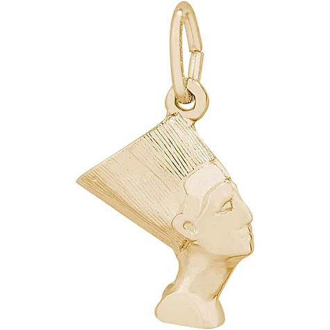 14K Gold Nefertiti Charm by Rembrandt Charms
