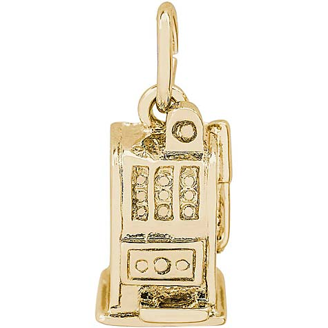 14K Gold Slot Machine Charm by Rembrandt Charms