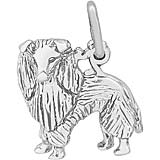 Sterling Silver Sheltie Dog Charm by Rembrandt Charms