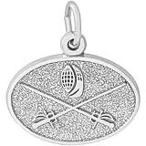 14K White Gold Fencing Charm by Rembrandt Charms