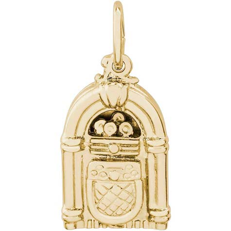 14K Gold Juke Box Charm by Rembrandt Charms