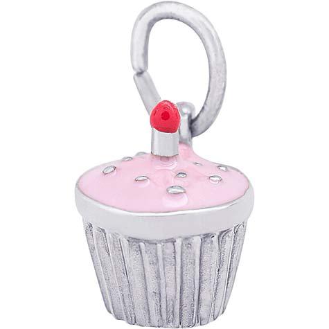 Silver Pink Cupcake