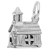 Sterling Silver Opening Church Charm by Rembrandt Charms