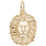 14K Gold Lion Charm by Rembrandt Charms