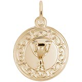14K Gold Trophy Cup Charm by Rembrandt Charms