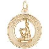 14k Gold Confirmation Charm by Rembrandt Charms