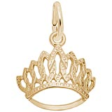 10k Gold Tiara Charm by Rembrandt Charms