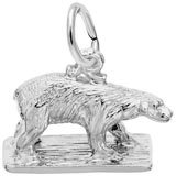 Sterling Silver Polar Bear Charm by Rembrandt Charms