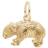 Gold Plate Wombat Charm by Rembrandt Charms