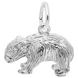 Sterling Silver Wombat Charm by Rembrandt Charms