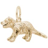 Gold Plate Tasmanian Devil Charm by Rembrandt Charms