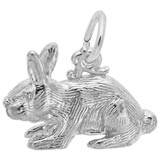 Sterling Silver Rabbit Charm by Rembrandt Charms