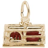 14K Gold Lobster Trap Charm by Rembrandt Charms