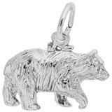 Sterling Silver Black Bear Charm by Rembrandt Charms