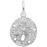 Sterling Silver Sand Dollar Charm by Rembrandt Charms
