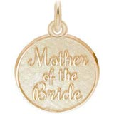 Gold Plate Mother of the Bride