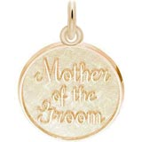 Gold Plate Mother of the Groom